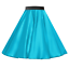 Girls-SATIN-Rock-n-Roll-Skirt-UK-1950s-Costume-Grease-Fancy-dress-ROCKABILLY thumbnail 14
