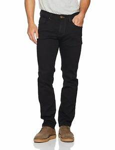 Details zu camel active Herren Straight Jeans 488765, Schwarz (Forever Black 9), Schwarz