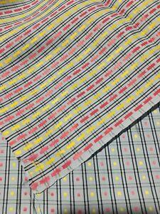 Doux Tissu Ancien En Coton Ou Rayonne ? Larg 90 Cm X H 170 Cm, Ref 735 Quell Summer Soif