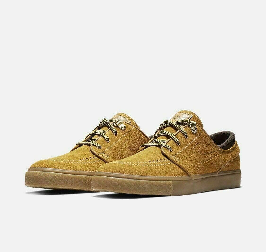 Nike SB Zoom Stefan Stefan Stefan Janoski Storlek 9 Premium Bronze Gum ljus bspringaaa AR1575 779  billigt försäljning online