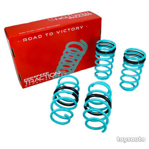 "Godspeed Tractions-S Lower Lowering Spring for Honda Civic 06-11 1.5""-F 1.4""-R"