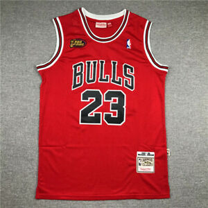 1998-Finals-Michael-Jordan-Stitch-RED-Jersey-Embroidery