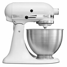 220 Volt 50hz Overseas Kitchen Aid 4.5 Qt Stand Mixer 5K45SSEWH for Export Only