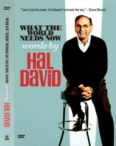 DVD-What-the-World-Needs-Now-Words-by-Hal-David-BRAND-NEW