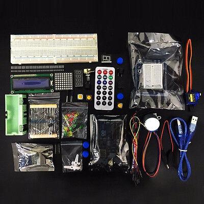 Ultimative UNO R3 Starter Kit fit für Arduino 1602 LCD Servomotor Relais RTC