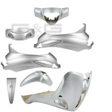 Verkleidungsset Verkleidung Verkleidungsteile Silber Piaggio Liberty 50/125/150