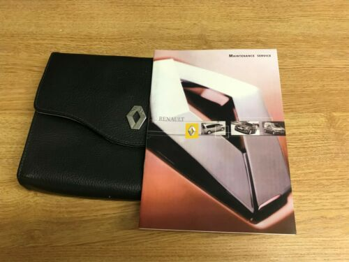 FOR ALL PETROL AND DIESEL MO BRAND NEW AND GENUINE RENAULT SERVICE HISTORY BOOK