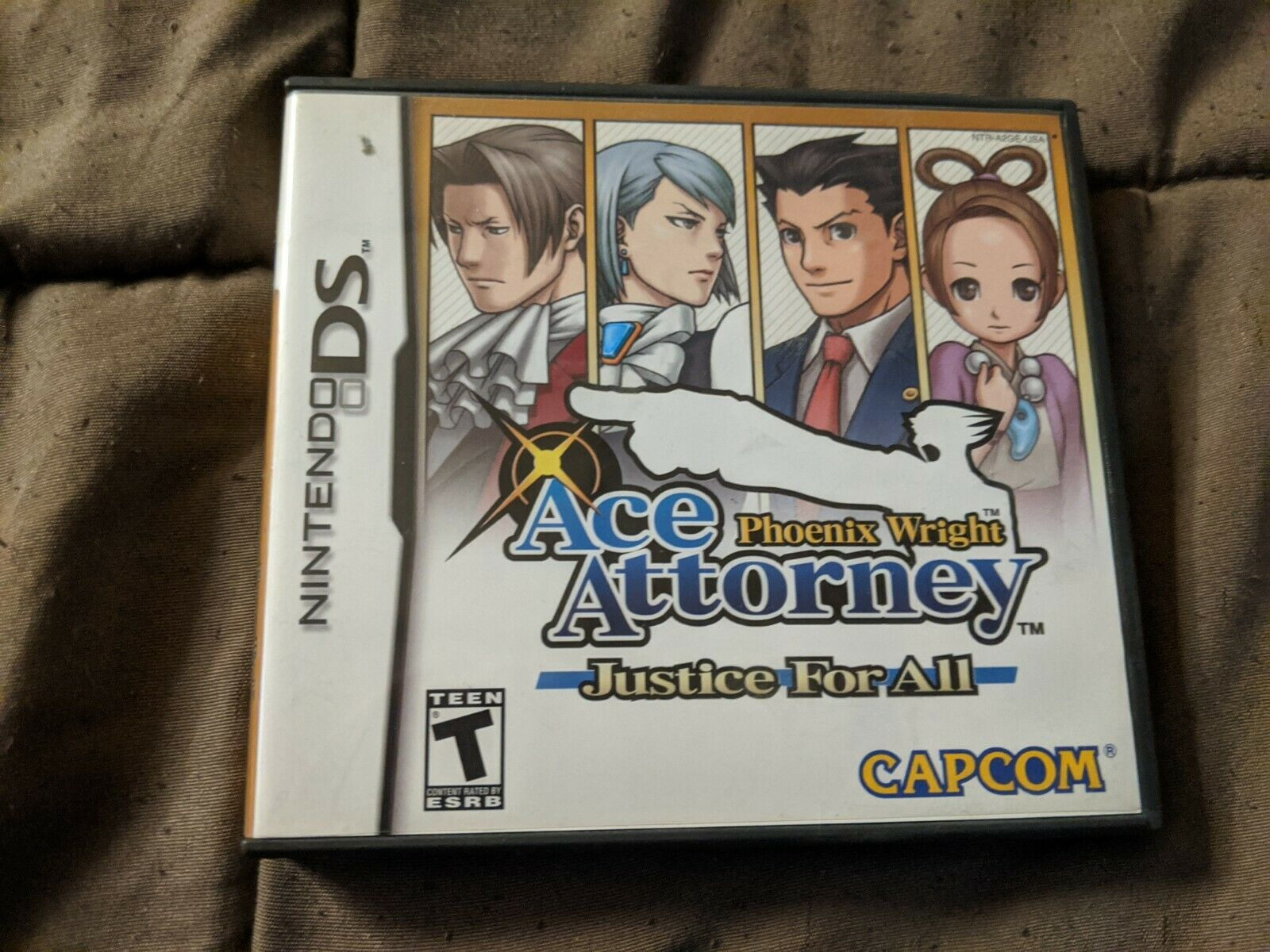 Ace Attorney Phoenix Wight Justice for All - Nintendo DS 1