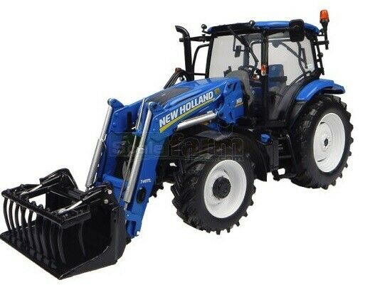 Universal Hobbies New Holland T6.145 & Loader New Mint Boxed