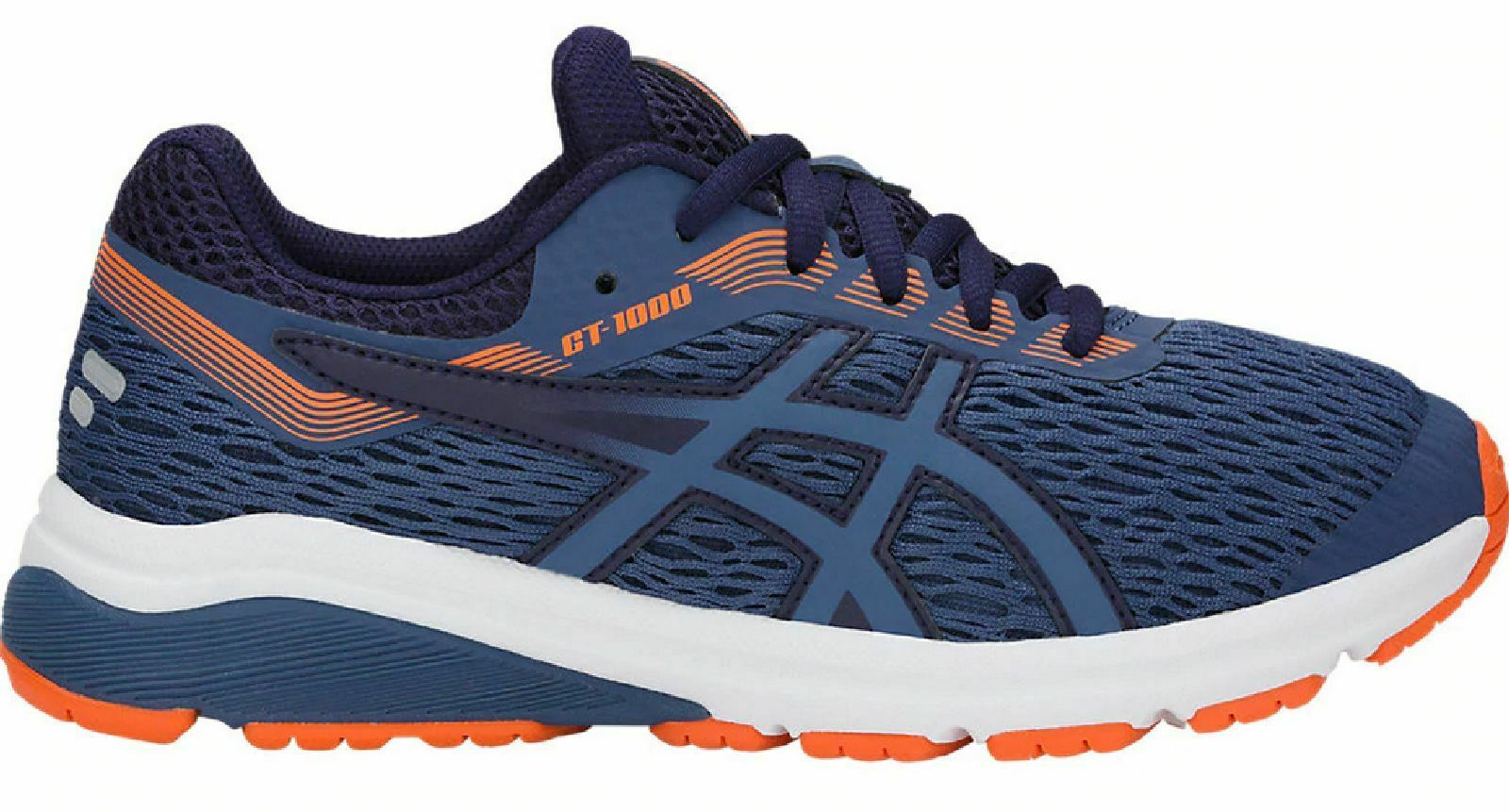 Asics Kids Running shoes Casual  gt-1000 7 GS Gel-Technologie bluee orange  take up to 70% off