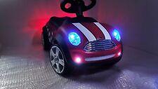 BMW MINI Racer Kinderauto mit LED Licht BobbyCar BabyCar Rutschauto ChilliRot ne