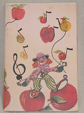 1990 Canvas-Top Fruit Stand Ranch Peach Pear Plum Apple Recipe Cook Book Booklet