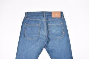 Scotch&soda Ralston Herren Blaue Jeans Größe 30/32, Original