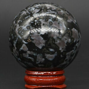50MM-Natural-Gemstone-Madagascar-Mystic-Merlinite-Reiki-Healing-Sphere-Ball-20