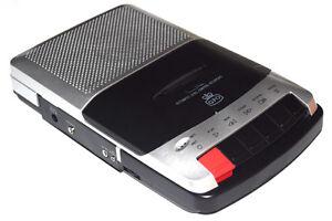 Reproductor-Grabador-Cassette-portatil-sobremesa-nuevo