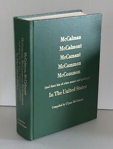 Genealogy-Book-Of-The-McCalman-McCalmont-McCamant-McCammon-McCommon