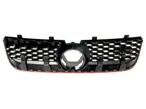 RADIATORE griglia griglia anteriore Grill ROSSO QUADRO ottica premute struttura VW POLO 9n3