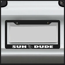 Suh Dude License Plate Frame Decal JDM Sticker turbo racing vinyl boost car