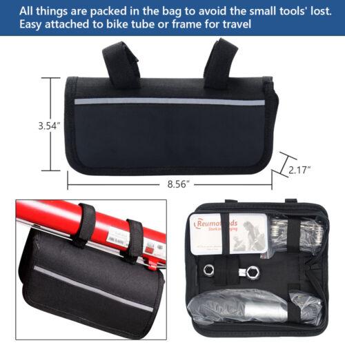 Bike Repair Kits with Pressure Gauge Pump Mini Bicycle Pump 120 PSI with Smart
