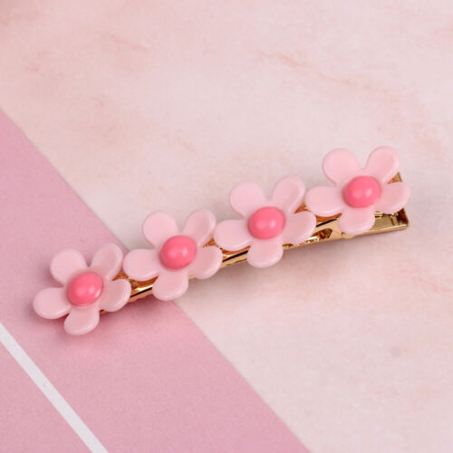 Women Fashion Geometry Pearl Crystal Hair Clip Barrette Stick Hairpin Accessory
