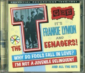 Frankie-Lymon-And-The-Teenagers-It-039-S-Lymon-Essential-Recordings-2X-Cd-Perfetto