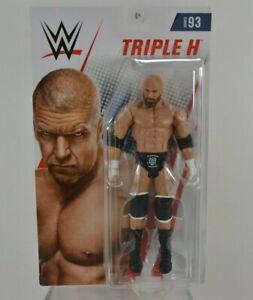 "Triple H 7/"" Action Figure WWE Basic Series 93 Mattel Wrestling"