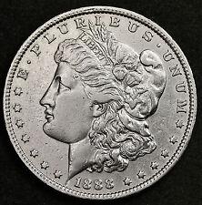 "1888-o Morgan Silver Dollar.  VAM Oval ""O"" mint mark.  High Grade. (Inv.F)"