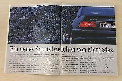 Neue Mode Mercedes Sl 500 6.0 Amg R129 Anzeige/werbung Feine Verarbeitung Berichte & Zeitschriften Auto & Motorrad: Teile