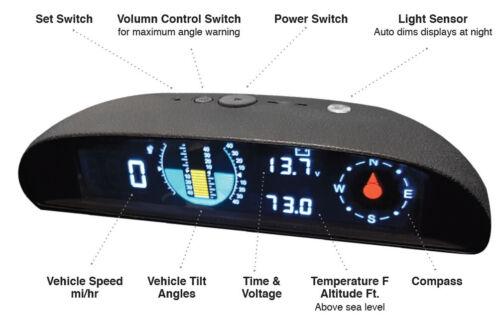 BEULER  HUD500 Universal Dash Mount Heads Up Display unit New!