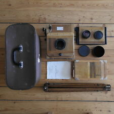 FKD 13x18 Soviet Vintage Wooden Large Format Camera Industar-51 4.5/210mm lens