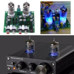 6J1-Tube-Hifi-Stereo-elektronische-Roehren-Vorverstaerker-Board-fertig-Vorverst