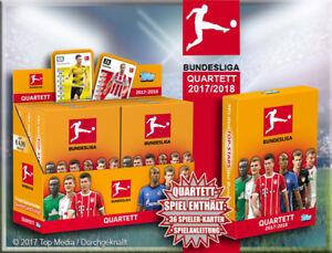 Topps-Match-Attax-2017-2018-12-x-Bundesliga-Quartett-Neu-Kartenspiel-Mitgebsel