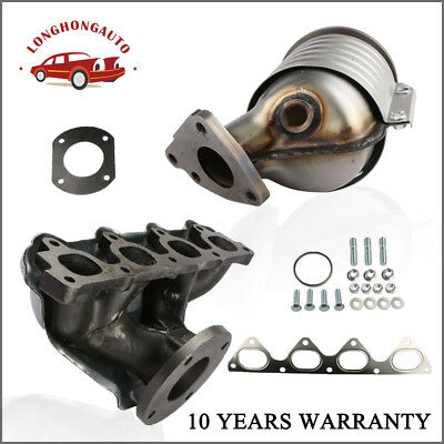 Exhaust Manifold W// Integrated Catalytic Converter 674439 For Civic Honda 96-00