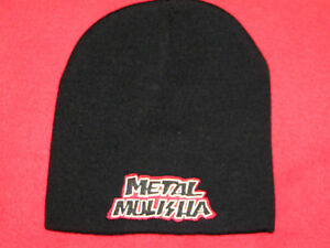 METAL MULISHA MOTOCROSS BLACK SKULL CAP BEANIE