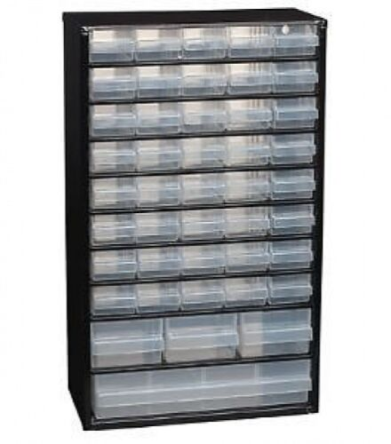 1xRaaco 44 Drawer Metal Storage CabinetUnitOrganiser^