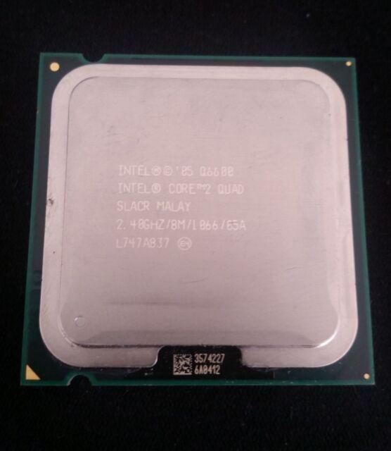Intel Core 2 Quad Q6600 2,4 GHz Quad-Core Prozessor SLACR + Wärmeleitpaste