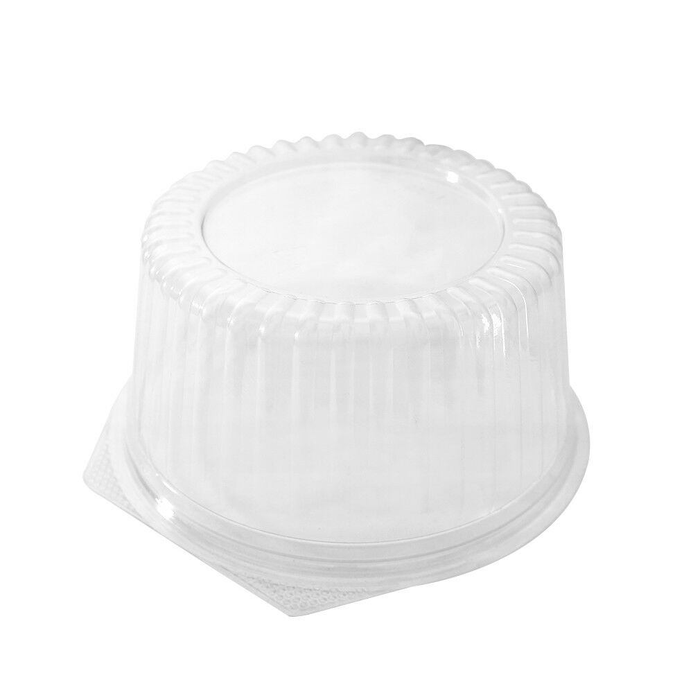 48oz Heavy Duty Round Deli Deli Deli Food Soup Clear Container Cups w  Lids BPA free c0c25b