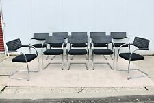 Modern Antonio Citterio For Vitra Visasoft Visavis Conference Chairs Set Of 10