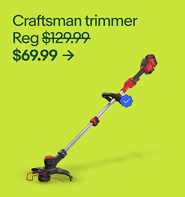 Craftsman trimmer Reg $129.99 $69.99