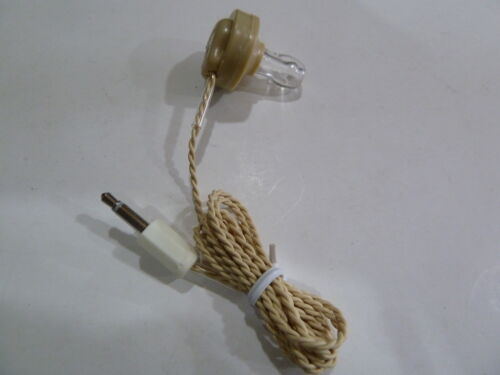VINTAGE HEADPHONES FOR  RADIOS AND CASSETTEE PLAYERS AND RECORDERS