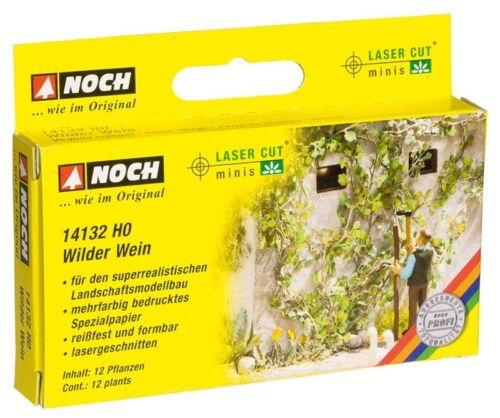 12 piante Laser-Cut Minis traccia h0 Ancora 14132 Wilder vino