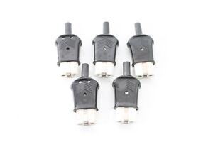 Old-Appliance-Cord-for-Socket-Cable-Bakelite-10A-250-Volt-Plug-Connector-Plug