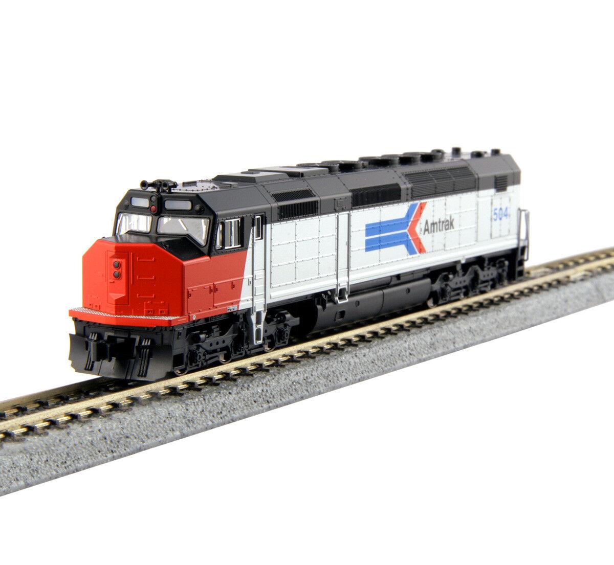 176 -9201 Locomotive diesel SDP40F Amtrak fas I KATO Tåg N 1  160