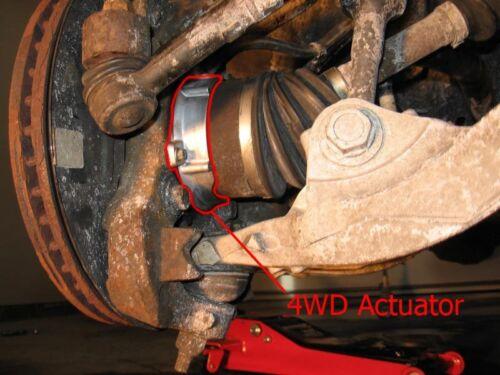 Mark LT 2006 14 Auto Locking Hub Front Axle Vacuum Actuator 4WD Single F150 lock