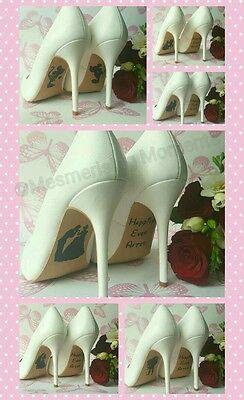 Calcomanía de Zapatos de boda de Disney/Mickey & Minnie Mouse/felices para siempre