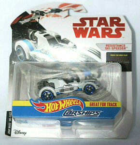 Hot-Wheels-Disney-Star-Wars-Carships-Resistance-Ski-Speeder-BNIB