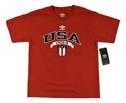 XL Umbro Youth USA 2014 Shirt NWT S M L