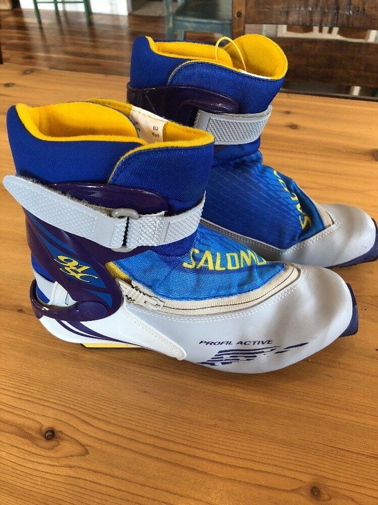 Salomon Profil Active 9.1SC Energyzer Us Mens 6 Women's 7 Ski Skiing Boots