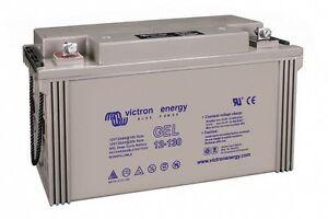 Batterie camping car Victron GEL 12v 130ah BAT412121100 decharge