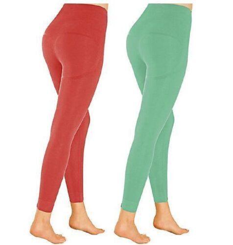 leggings SchlankLeggings rot  mint Mamma Mia 2er Set M L XXL XL Damenleggins